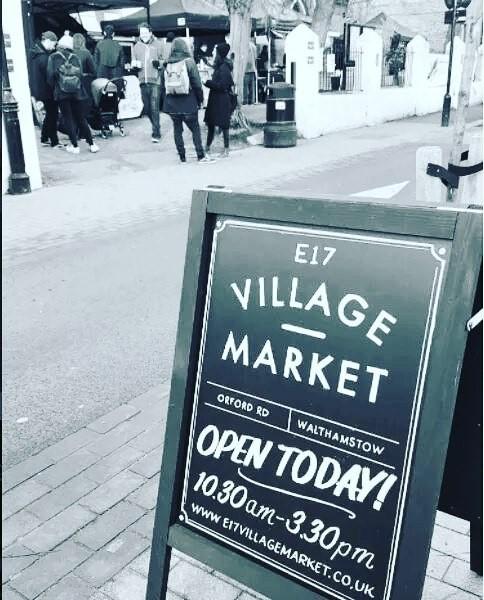 1st birthday of E17 Village Market