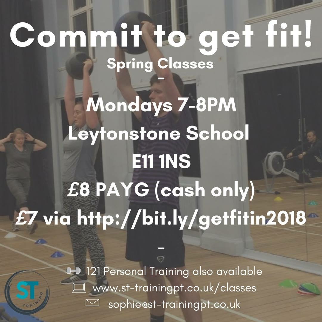 Commit to get fit! The Spring Edition