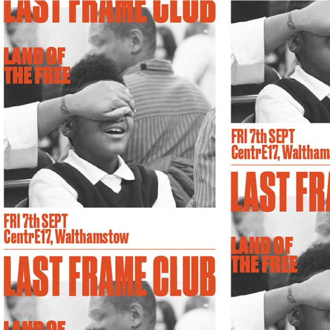 Last Frame Club - Land of the Free *UK Premiere*