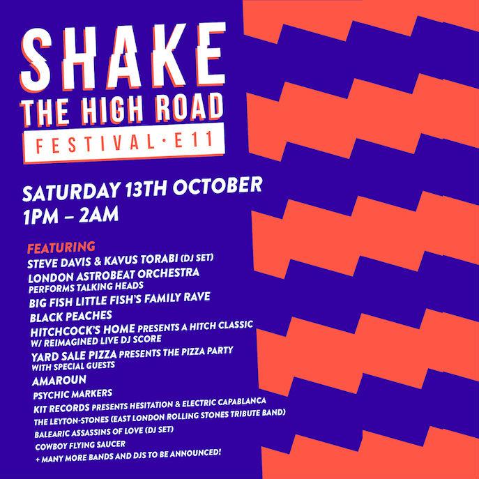 SHAKE THE HIGH ROAD - E11 Music Festival