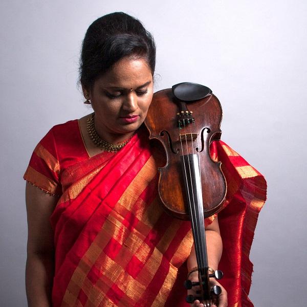 St John's Music Hall presents violin virtuoso Jyotsna Srikanth