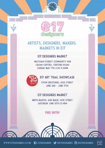 E17 Designers' Summer Market/E17 Art Trail