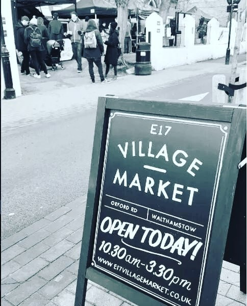 1st birthday of E17 Village Market