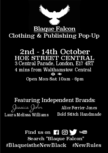 Blaque Falcon Clothing & Publishing Pop-Up