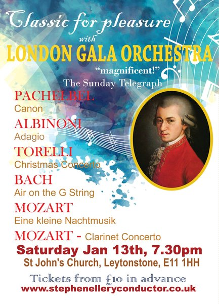 Classics for Pleasure with the London Gala Orchestra