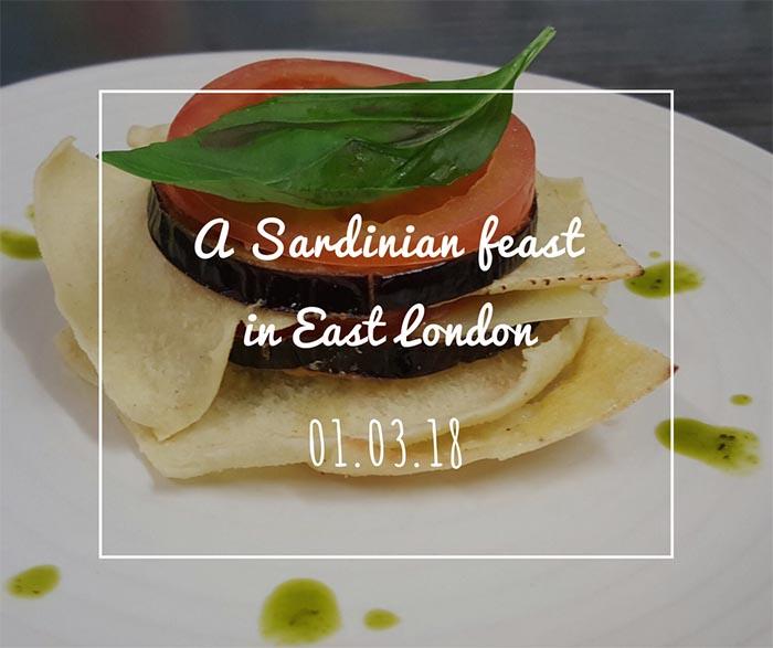 A Sardinian Feast in East London