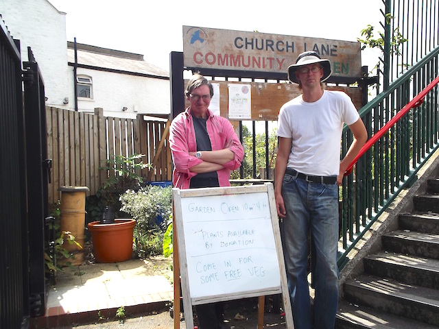 Church Lane Community Garden Open Day