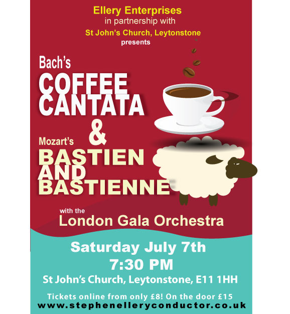 "Opera Double Bill- Mozart's ""Bastien"" and Bach's ""Coffee Cantata"""