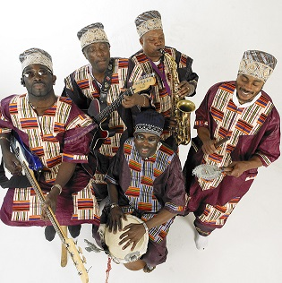 St Mary's Music Hall presents Kasai Masai