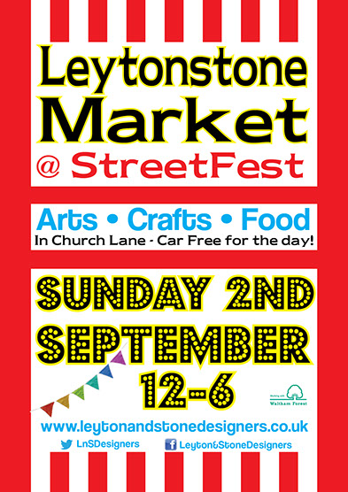 Leytonstone Market at StreetFest