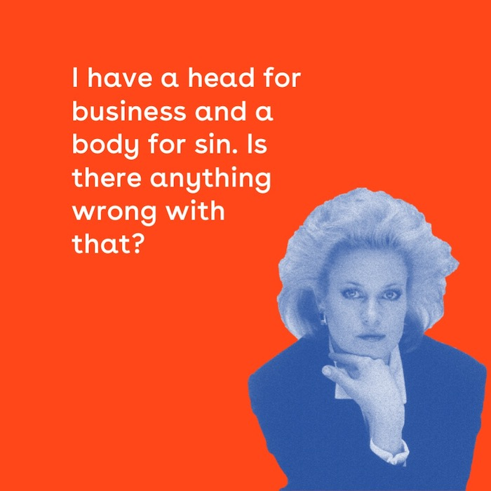 We Mean Business: Working Girl