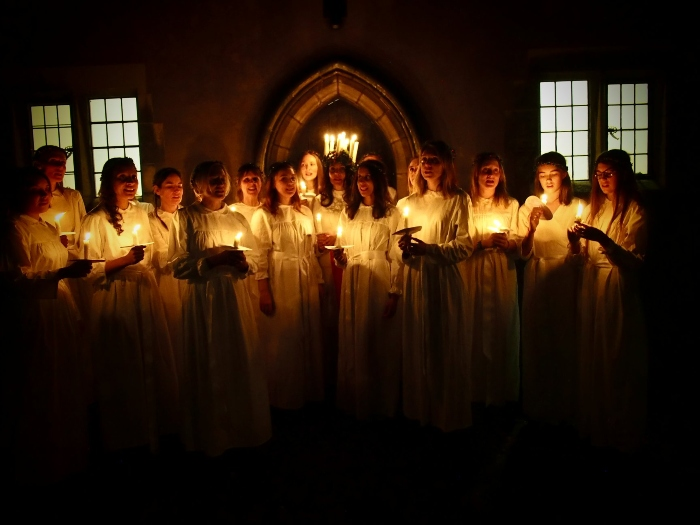 Sankta Lucia with Norrsång Choir