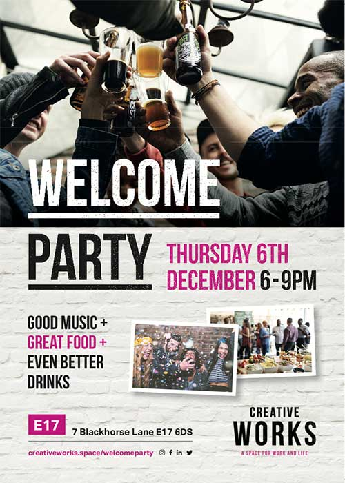 Creative Works Welcome Party