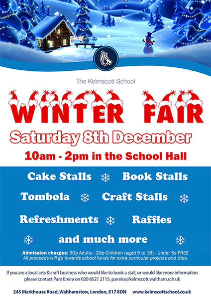 Kelmscott School Winter Fair