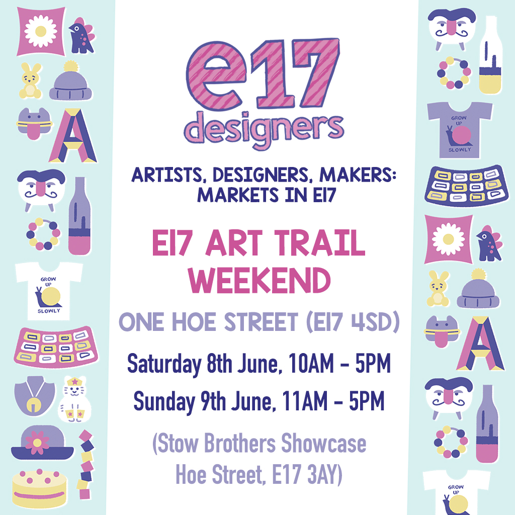 E17 Art Trail Weekend – Bookish Art Market