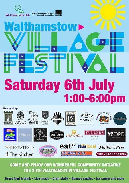 Walthamstow Village Festival 2019
