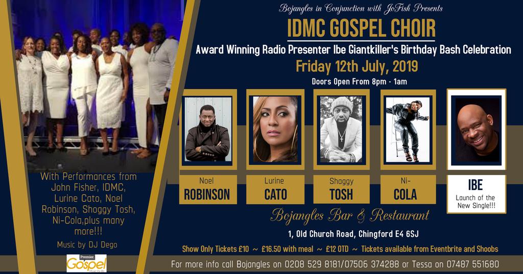 Birthday Bash with the IDMC Gospel Choir