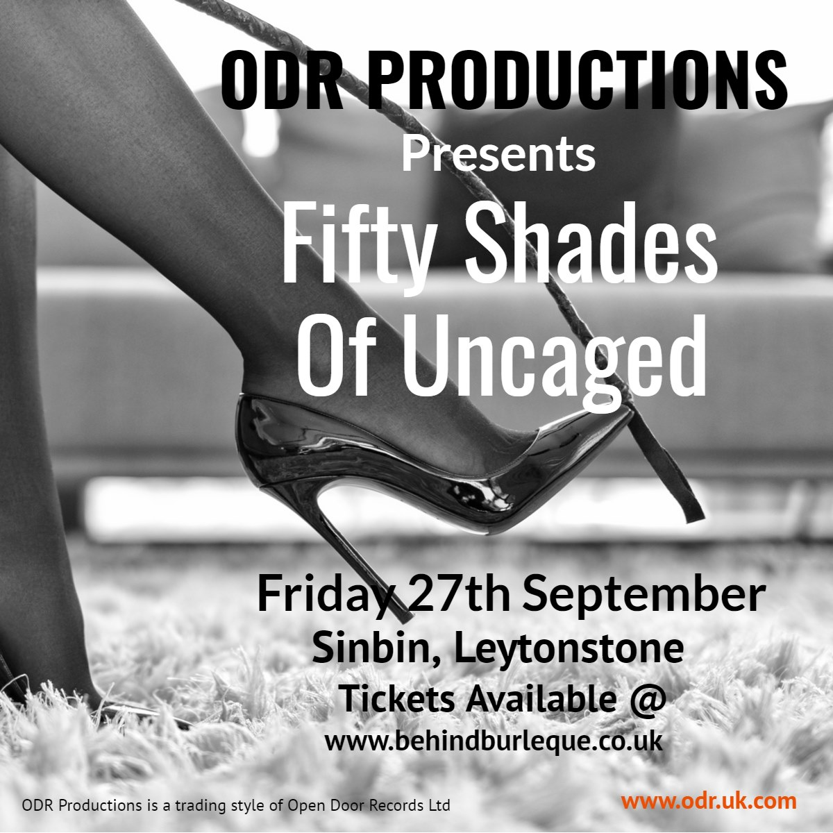 Uncaged London presents: Fifty Shades of Uncaged