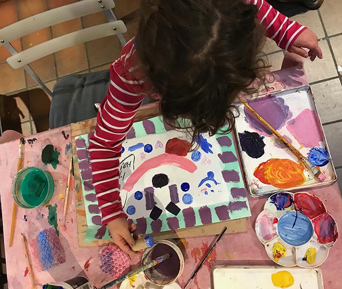 Childrens  Animal Painting workshop (6-8yrs)