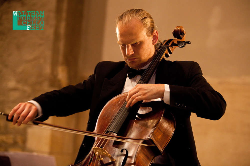Walham Forest Cello Fest - J. S. Bach: 6 Cello Suites, Frantisek Brikcius - Cello