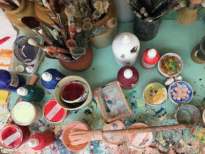 Across the Spectrum -  Childrens\' Pic\'n MixHybridCreature workshop (9 yrs).  Artist Sharon Drew