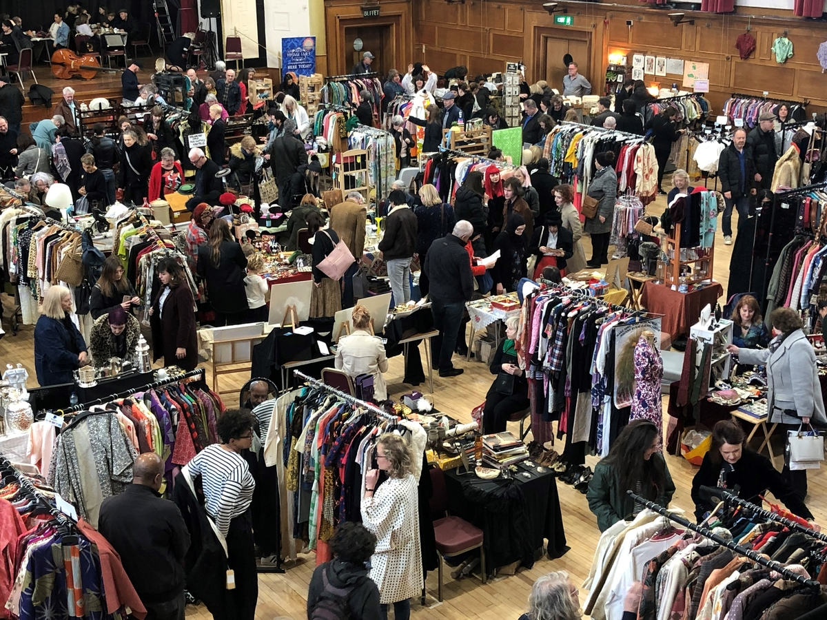 Pop Up Vintage Fairs London at Walthamstow Assembly Hall!