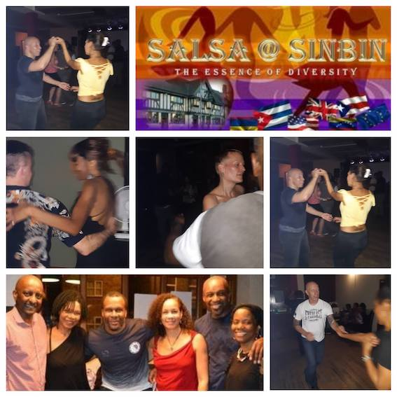 Salsa classes for every level and Salsa Club with Salsa@Sinbin Team - every Thursday!