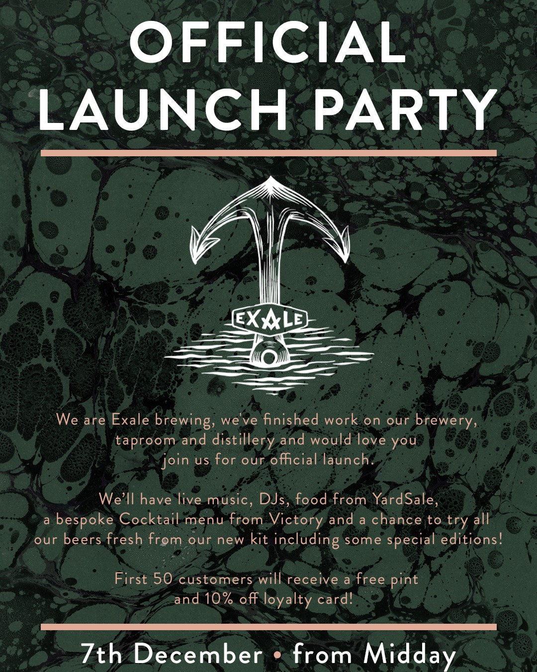 Exale Brewing Official Launch Party