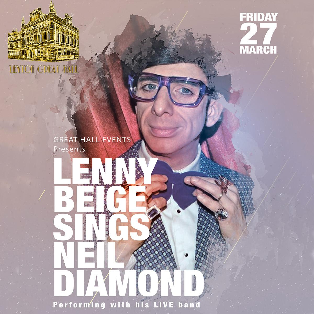 LENNY BEIGE SING NEIL DIAMOND