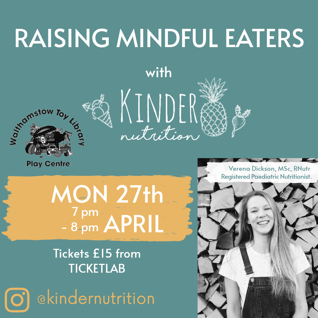 RAISING MINDFUL EATERS with Kinder Nutrition