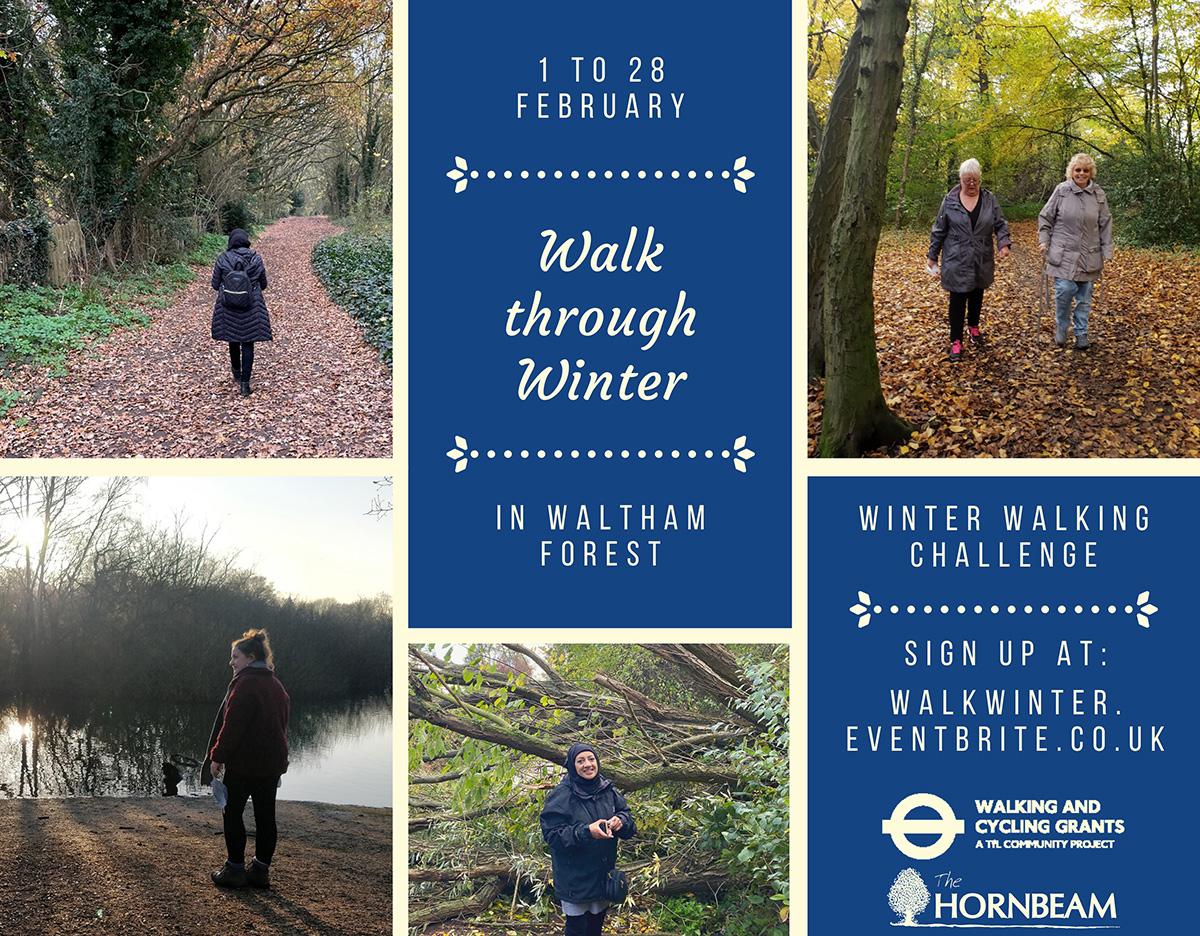 Walk through Winter in Waltham Forest